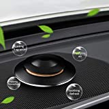 MANLI Car Fragrance Diffuser, Aromatherapy Essential Oil Car Scent Diffusers Purifying Air, UFO Shaped Decorations for Car, Desk, Room(Black)