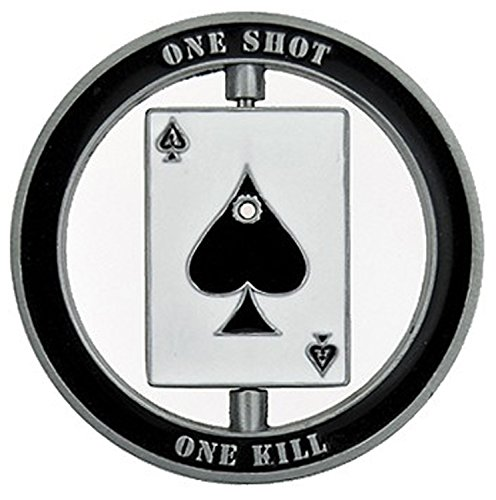 Thompson Emporium Sniper Specialist Marksman - One Shot Spinner Challenge Coin – Gift for Men