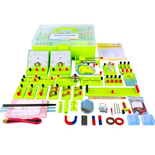TTSUAI CTIM Kit Circuito Eléctrico, Kit De Aprendizaje De Ciencias, Juguetes Educativos Montessori,Conjunto De Experimentos De Electricidad Y Magnetismo, Circuitos De Construcción para Niños