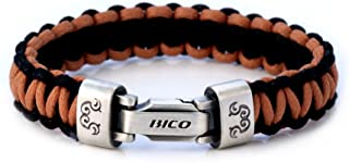 Traveller Hand-Woven Cord Bracelet (CA40 Brown Black) - Revel in Finding Distant Lands
