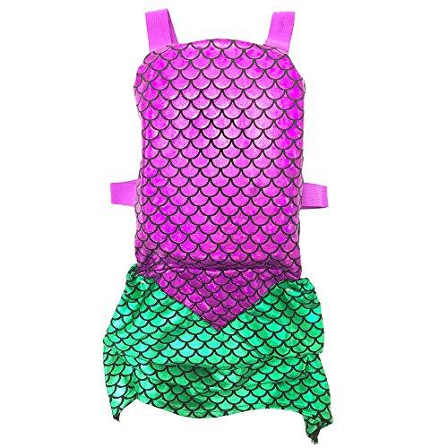 Narly Noggins Trainer Mermaid Vest, Pink