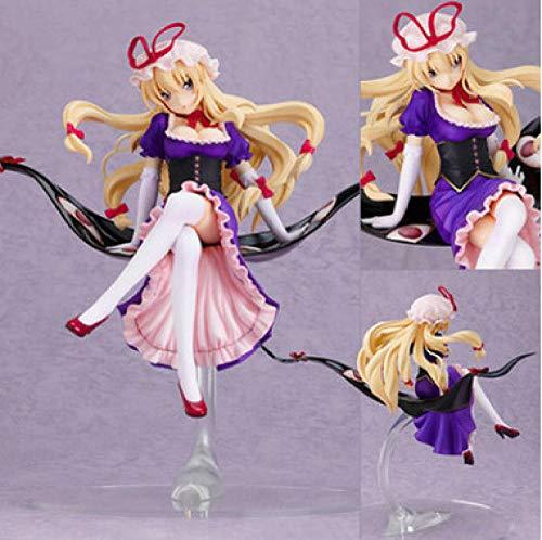 Zqcay Figuras De Accion Yakumo Purple Purple Mom Regalos para Ninos Y Ninas Fanaticos del Anime Decoracion De La Sala De Estar 22Cm.PVC Coleccion Modelo Juguetes Regalos