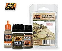 AK Interactive OIF & OEF US Weathering Set 00120