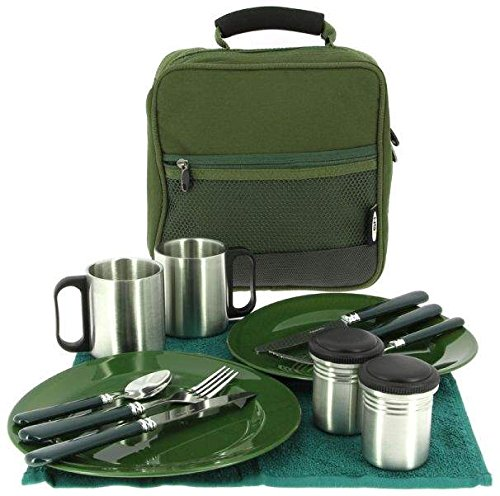 NGT Deluxe Cutlery Set Food, grün, L