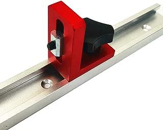 Bloomma 30//45 Tipo T-Slot Mitre Track Stop Sliding Miter Mitre Valla Conector Rail Rail Retainer Locutor para fresar Carpinter/ía-T-Track Conector de Ranura