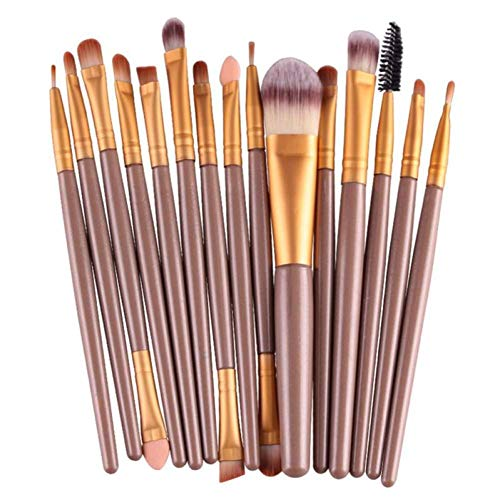 OPSBNWEUYS Pinceaux de Maquillage mis Fond de Teint Profesional Foundation Blusher Fard à paupières Lèvres Maquillage Kit de Maquillage cosmétique