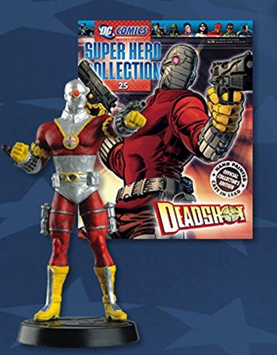 Statue von Blei DC Comics Super Hero Collection Nº 25 Deadshot