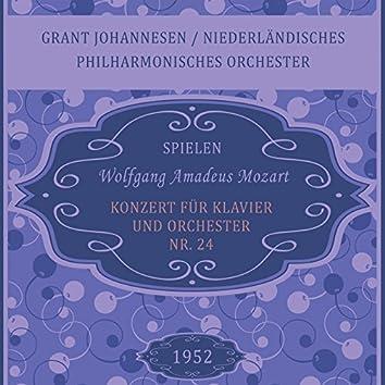 Grant Johannesen / Niederländisches Philharmonisches Orchester spielen: Wolfgang Amadeus Mozart: Konzert für Klavier und Orchester Nr. 24