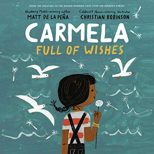 Carmela Full of Wishes audiobook cover art