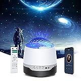 Proyector de Luz Estrella, Tasmor Lámpara Noctuna Infantil RGBW Regulable, Proyector Galaxy Rotación de 360° y...