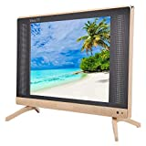 Televisor LCD de 22 Pulgadas Portátil de Alta definición 1366x768 Resolución HD TV LCD Portátil Fernseher Freenet TV Mini televisor Sonido Compatible HDMI/USB/VGA/TV/AV(UE)