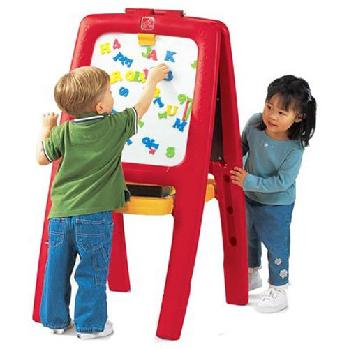 Step2 Easel for Two | Kids Double-Sided Art Easel with Magnetic...