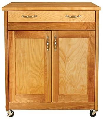 Catskill Craftsmen Designer Island with Flat Panel Doors from Catskill