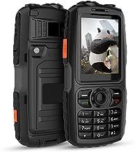 Peedeu Rugged 3G Phone,Zello A18 Phone,IP67 Waterpoorf, PTT Walkie Talkie,Dual SIM,WCDMA GSM WiFi Android Mobile Phone(3800mAh)