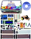 15+ Step by Step Video Projects Guide by Industrial Experts Best for Robotics / Electronics Beginners / Learners Complete Hardware + Software + Video Guide combo Complete kit for electronics / Adruino workshop This kit include one pen-drive, which in...