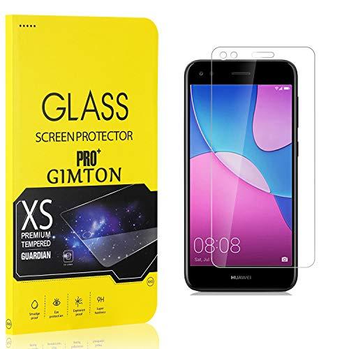 GIMTON Displayschutzfolie für Huawei P9 Lite Mini, 9H Härte, Anti Bläschen Displayschutz Schutzfolie für Huawei P9 Lite Mini, Einfach Installieren, 3 Stück