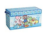 Nintendo Super Mario Collapsible Children's Toy Storage Trunk, Durable Canvas with Lid