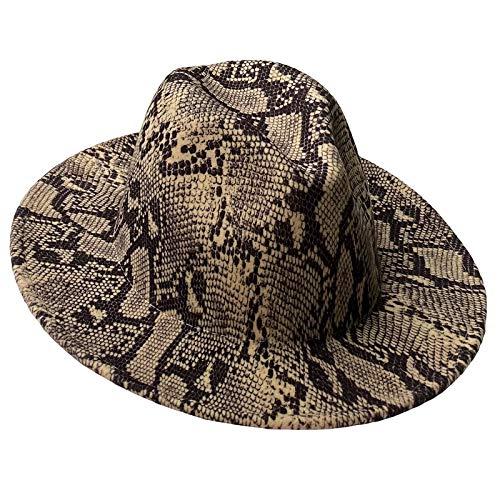 JK Home Fedora - Sombrero para hombre y mujer, con borde ancho...