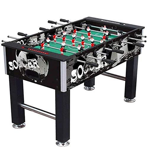 ZY Doble Juguete de la Tabla Fútbol, Competencia Tabla Juego de fútbol de tamaño Fútbol Arcade for Adultos, niños, Juego de Interior Sala de Deporte (Color: Multi-Color) LOLDF1 (Color : Black)