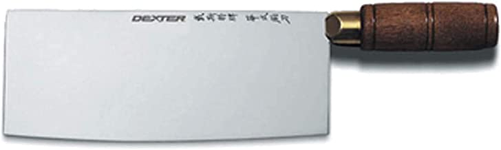 "Dexter Outdoors 8"" x 31/4"" Chinese Chef's Knife"