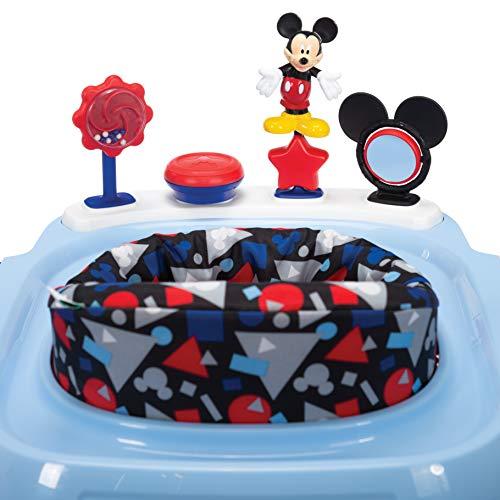 Disney Baby Ready, Set, Walk! DX Developmental Walker, Mickey Modern Play (WA096FBH)