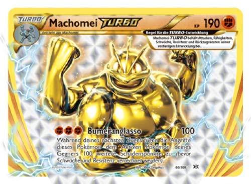 60/108 Machomei Turbo Pokemon XY Evolution Sammelkarte - Deutsch - Cardicuno