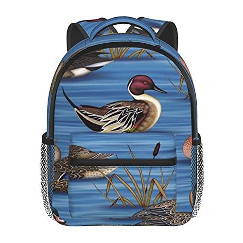 RTUBNSD Kinderrucksack Enten 11, Kindergarten Vorschul Tasche Schultasche für Kleinkinder Mädchen Jungen