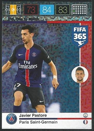 Panini Adrenalyn XL FIFA 365 Sakho une attention aux cartes