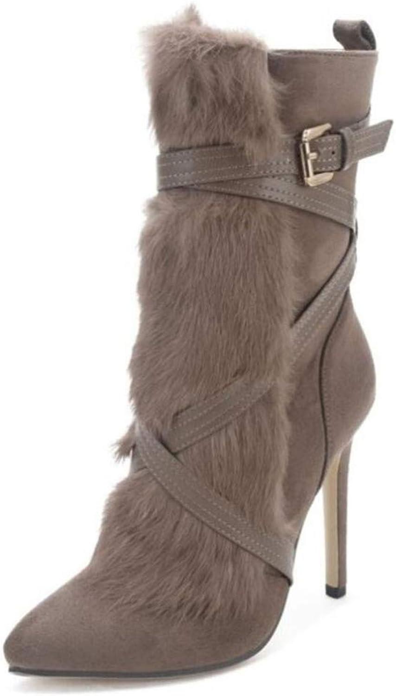 Damen Stiefeletten Heels Classic Zip Fashion Damen Stiefel Martin Martin Martin Stiefel  f86ea3