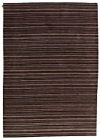 Pasargad DC 手織りモダンラグ – 5フィート7フィート×8フィート マルチカラー インド製