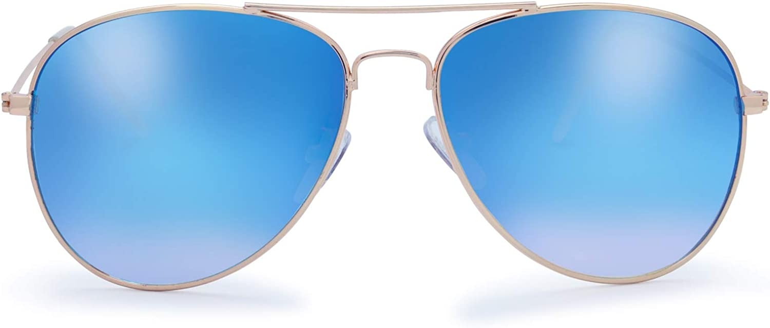 The Fresh Classic Metal Frame wit Mirror A surprise price is realized Lens Columbus Mall Sunglasses Aviator