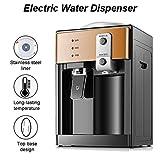 Atten Dispensador de Agua, Mini Escritorio eléctrico automático Caliente/fría del refrigerador del Potable for Home Office Coffee Tea Bar, 220V 500W