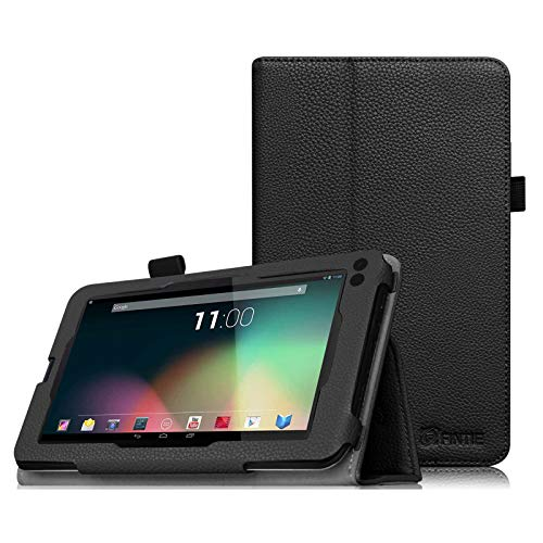 Fintie Case for RCA Voyager 7, Premium PU Leather Folio Cover for All Versions RCA Voyager 7' / Voyager II 7' / Voyager III RCA 7' / RCA Voyager Pro 7' Android Tablet, Black