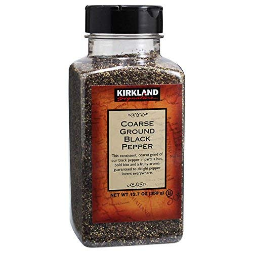 Kirkland Signature Coarse Black Pepper (2 bottle)