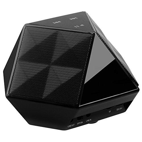 For Sale! DLAND Wireless Bluetooth Speaker - FM Radio, HD Audio, Built-in Mic, TF Card, Support 3.5 ...