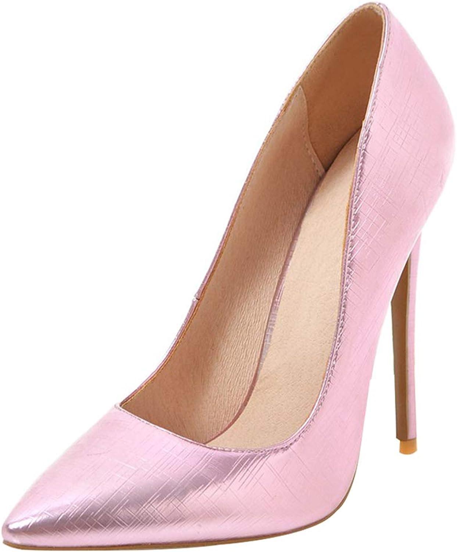 Kikiva Womens High Heel Stiletto Pointed Toe Pumps Ladies Office Work Court shoes