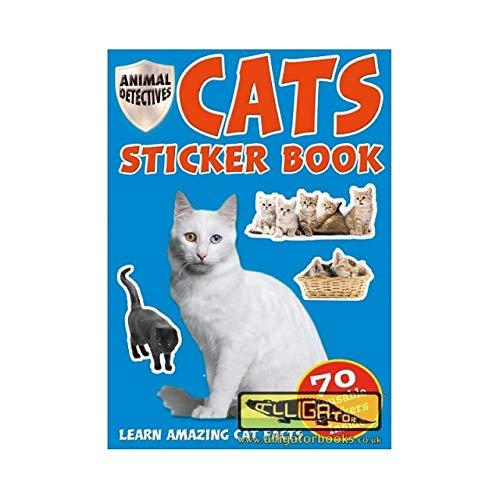 Pegatinas reutilizables para gatos y gatitos, más de 70 pegatinas ...
