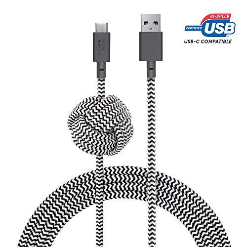 Native Union Night Cable USB-C a USB-A - 3 Metres Ultra-Robu