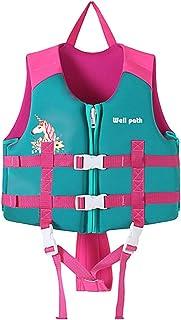 Gogokids Simväst för barn Folat Jacka, Småbarn Simning Träning Bouyancy Baddräkt Assist Badkläder för 7,7–85 kg Baby Barn