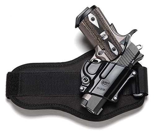 Fobus Concealed Carry Shoulder Rig Holster fits Colt 45 Government & All 1911 style / FN High power / FN 49 / Kimber 4&5 inch / Sasilmaz Klinic 2000 light / Browning Hi-power Mark III 4, 5mm. / Browning GPDA 9 + 4500 Mag. Pouch