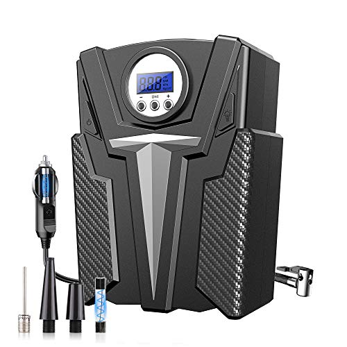 COOLWOW Air Compressor Tire Inflator, DC 12V Portable Air Compressor for...