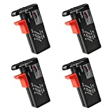 Best Battery Testers - Battery Tester 4 Pack Universal Battery Checker Review