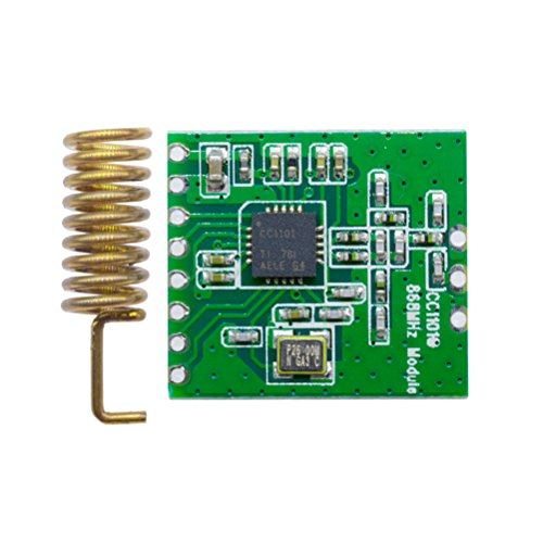 868 MHz Funk Modul CC1101 fhem Selbstbau Cul Wireless Transceiver für Arduino