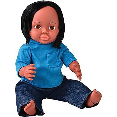 """16"""" Multi-Ethnic Doll- Native American Boy"""