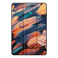 Sepikey iPad 10.2 2019/iPad 保護ケース,傷防止 三つ折タイプ 耐久性 PC + PU 耐衝撃性 3つ折り スタンド機能付き タブレットケース iPad 10.2 2019/iPad Case-グラフィティ3
