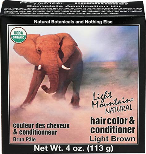 Light Mountain Light Brown Henna 120 ml