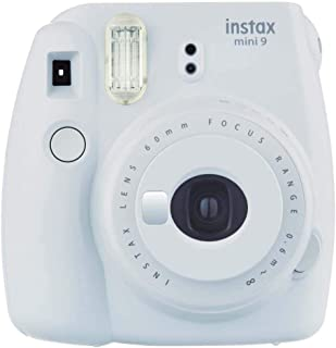 Fujifilm 16550679 Instax mini 9 Instant Film Camera, Smoky White
