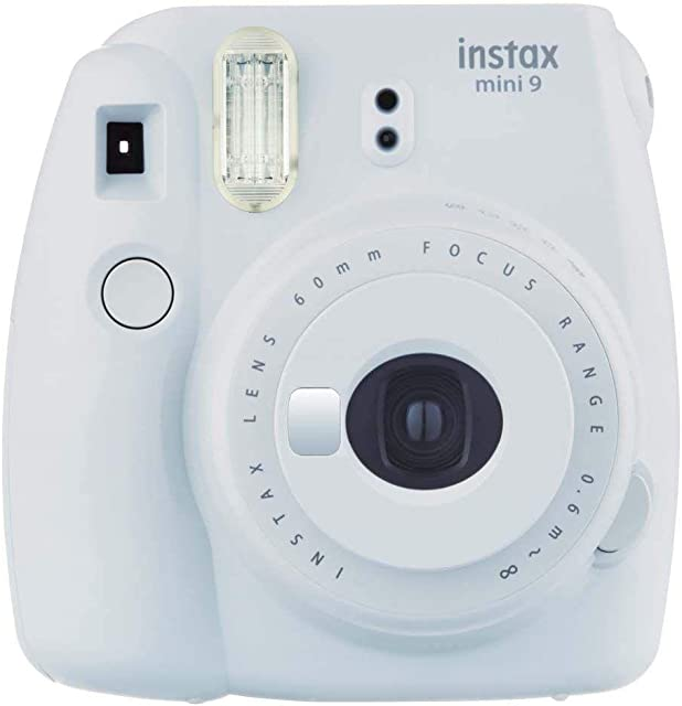 Fujifilm Instax Mini 9 - Cámara instantanea solo cámara Blanco (Smoky White)