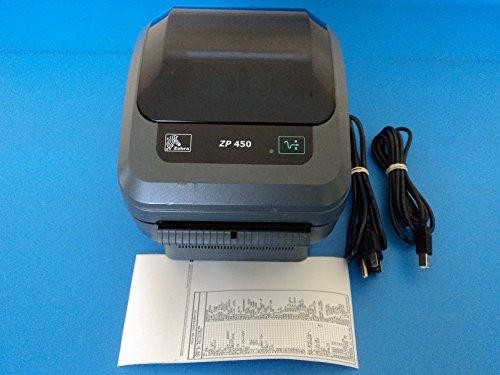 Zebra ZP 450 USB Thermal Label Printer with Cables ZP450-0501-0006A by Zebra...