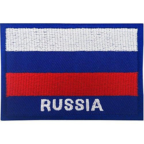 Russland Flagge Patch Eisen auf Badge/Nähen auf Russische Flagge bestickt Motiv Aufnäher